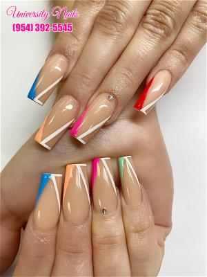 Nail salon 33025 | Look at the beautiful nails that are leading the trend